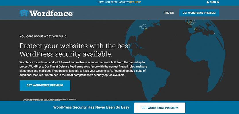 wordfrence plugin, beat free and paid WP theme