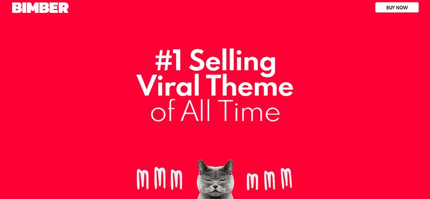 bimber theme, Selling WordPress Magazine Themes