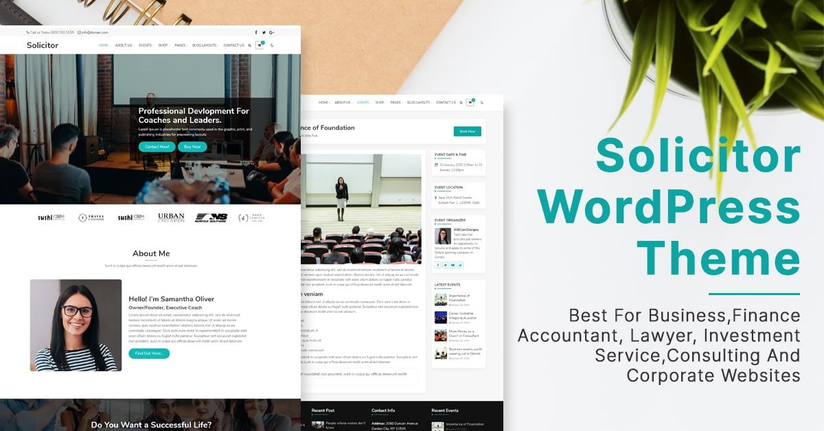Financial Blog theme