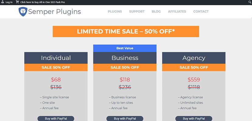all in one SEO plugin, semper plugins