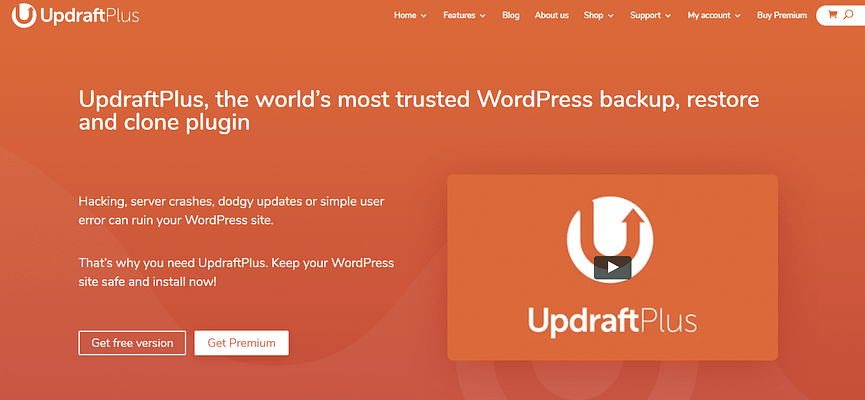 updraftpluse plugin, WordPress Backup Plugins