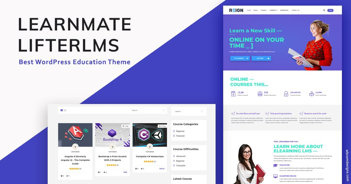 WordPress LifterLMS Theme