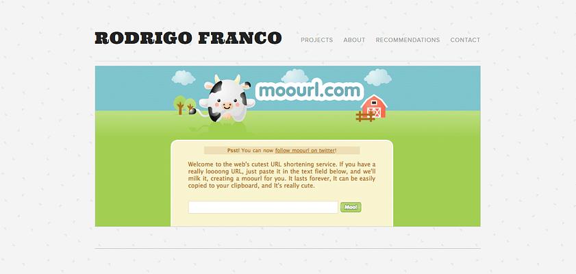 moourl.com website, URL Shortener Websites