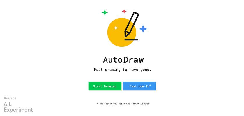AI tools for marketing, Google AutoDraw