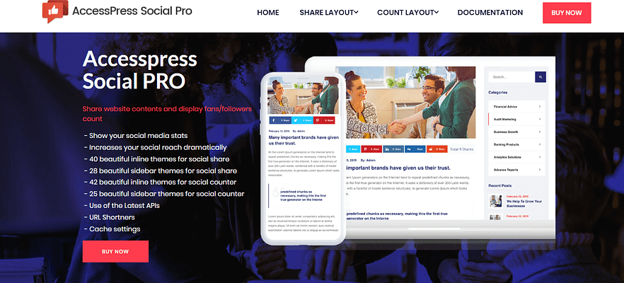 accesspress social pro, best free and paid WP plugin