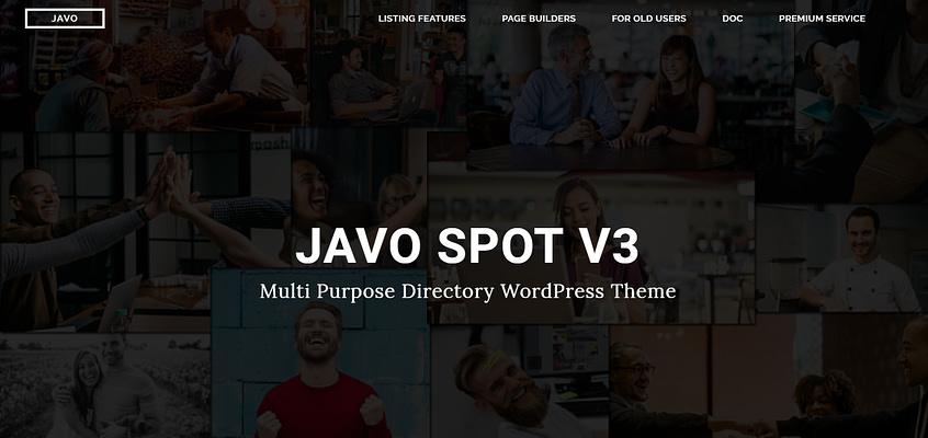 javo spot theme, multipurpose theme