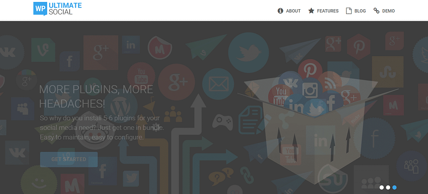 WP ultimate social plugin, WordPress Social Sharing Plugins