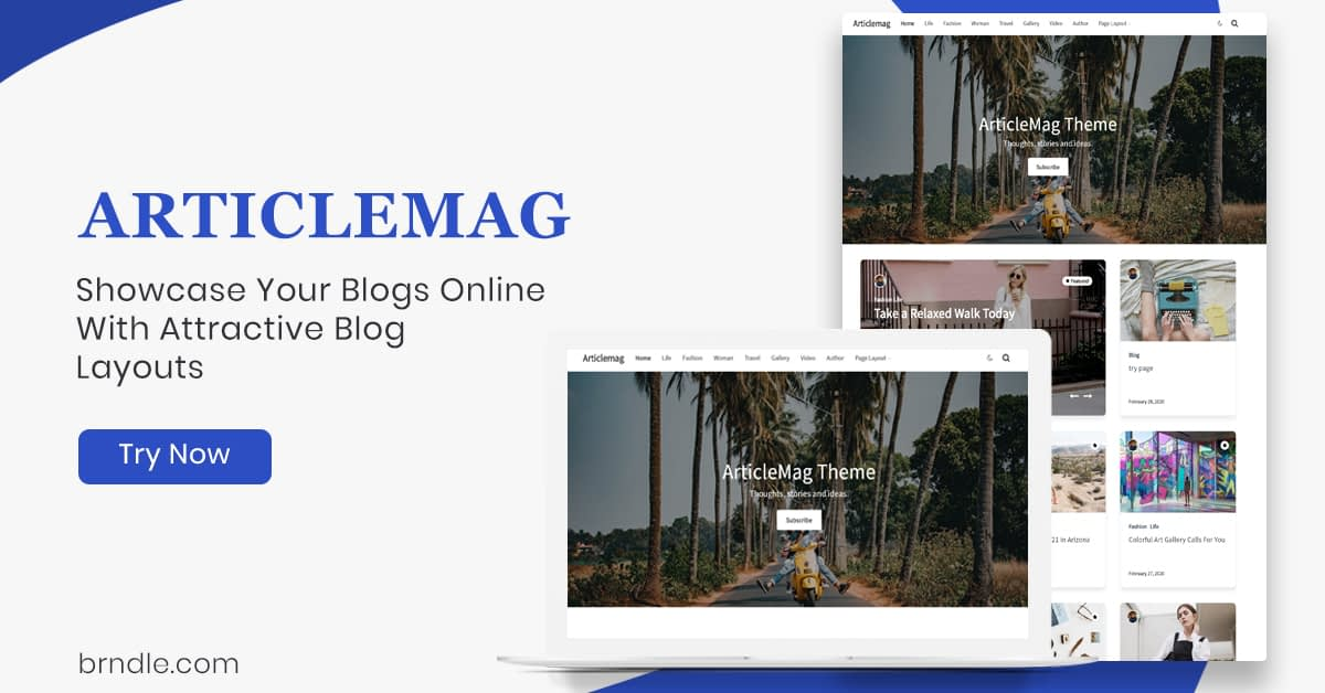 WordPress Blogging Theme