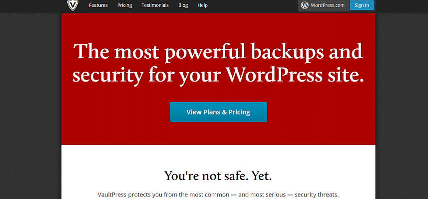 vaultpress plugin, wordpress backups plugins