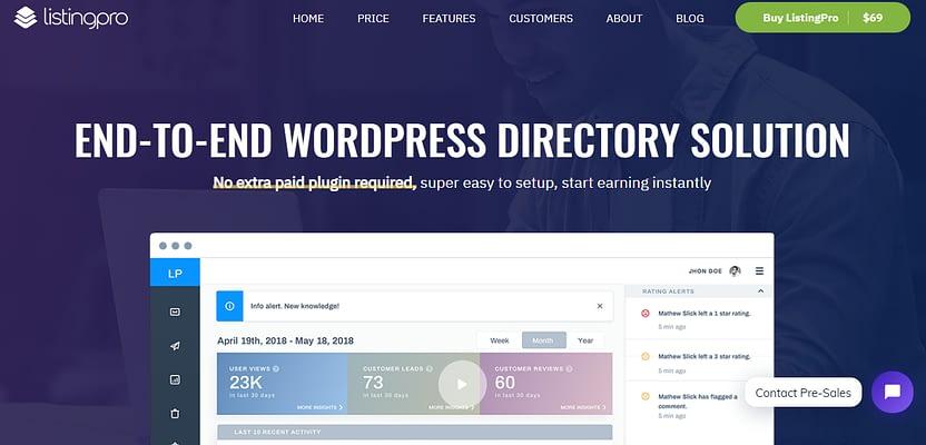 listingpro theme, Directory WordPress Themes