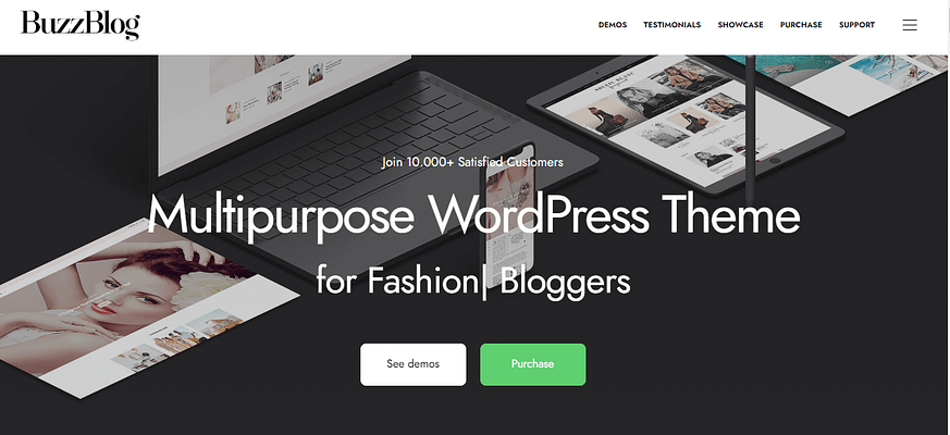 buzzblog theme, best free and paid theme