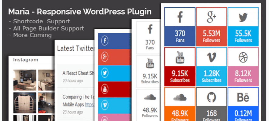 maria plugin, best free and paid WP plugin