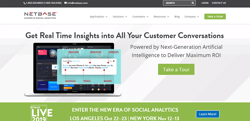 netbase platform, AI tools for marketing