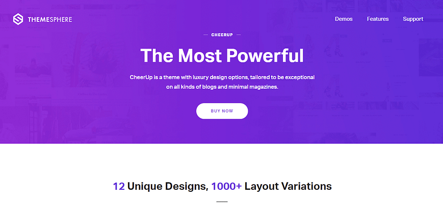 cheerup theme, best free and paid theme